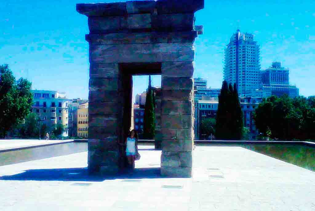 temple debod à madrid