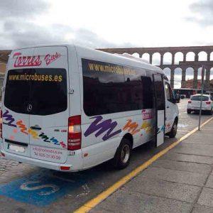 Kleinbusvermietung Kleinbus in Madrid Toledo Segovia Avila