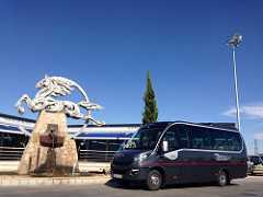 alquiler microbus 25 plazas en madrid para boda