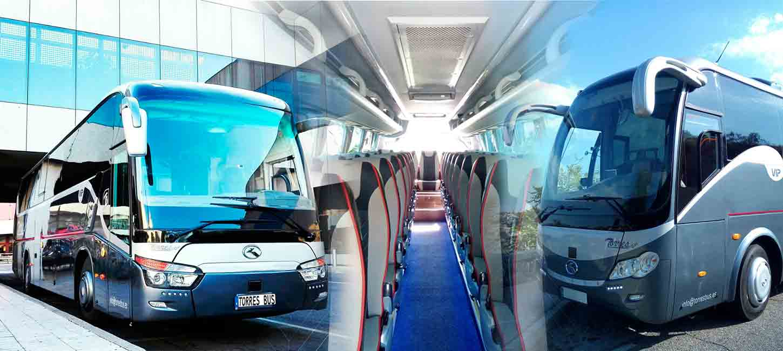 autobuses de alquiler en madrid autobus autocar