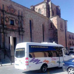 باص باص ميكروباص مدريد للايجار