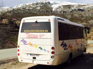visit monument madrid snow bus microbus company transport