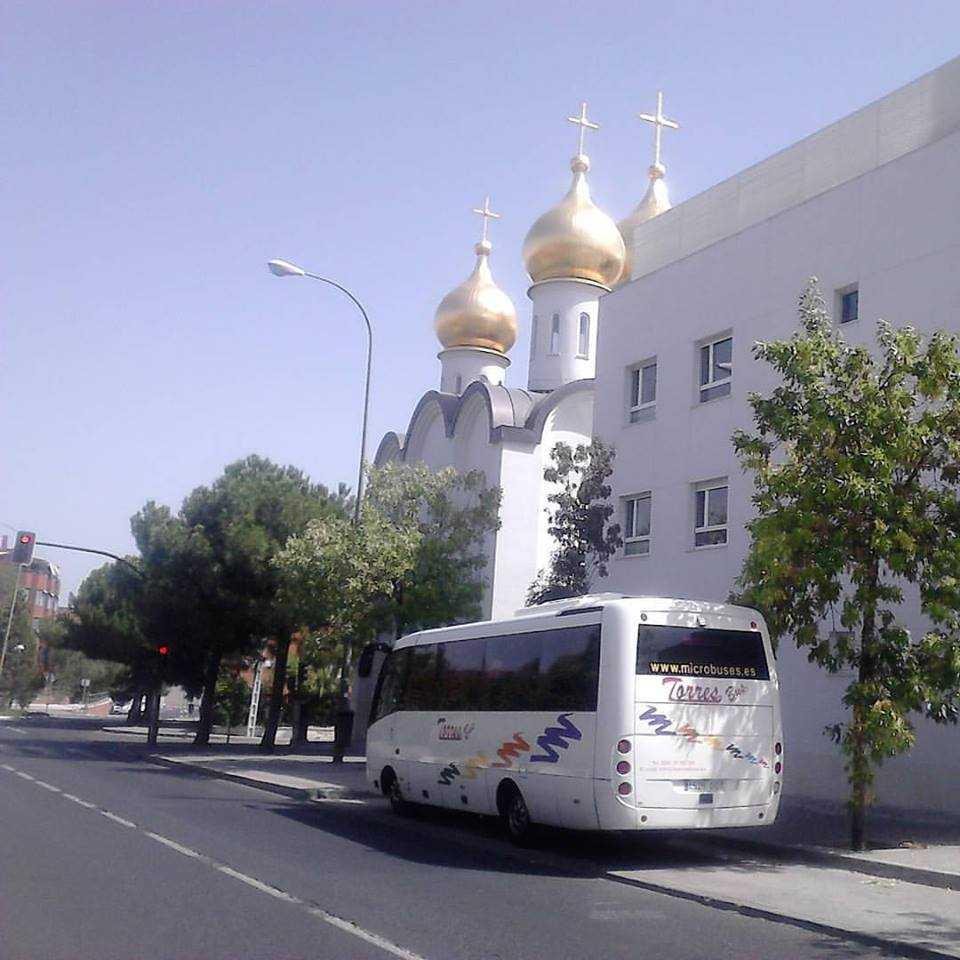 Alquiler autobuses para bodas Madrid
