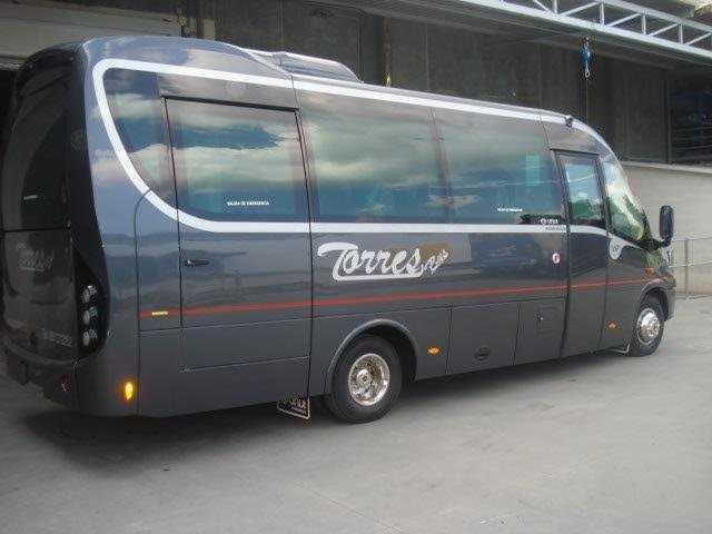 Alquiler minibus sprinter mercedes en madrid