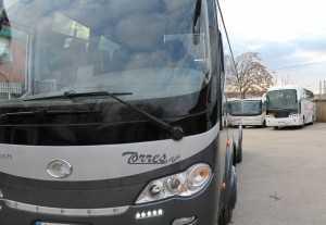 noleggio bus noleggio autobus da parte di madrid