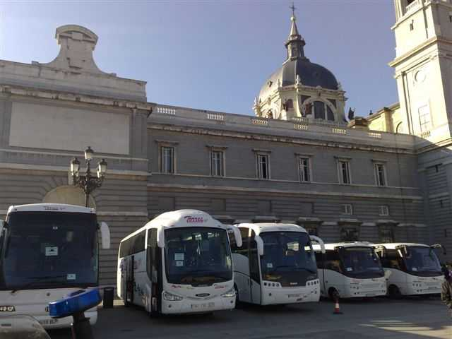 Reisebusvermietung in Madrid