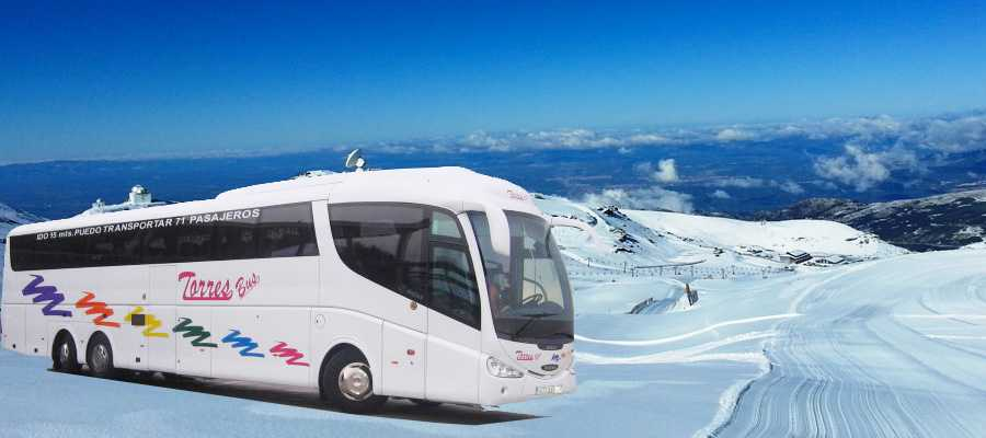 Coach hire bei madrid mat Chauffer