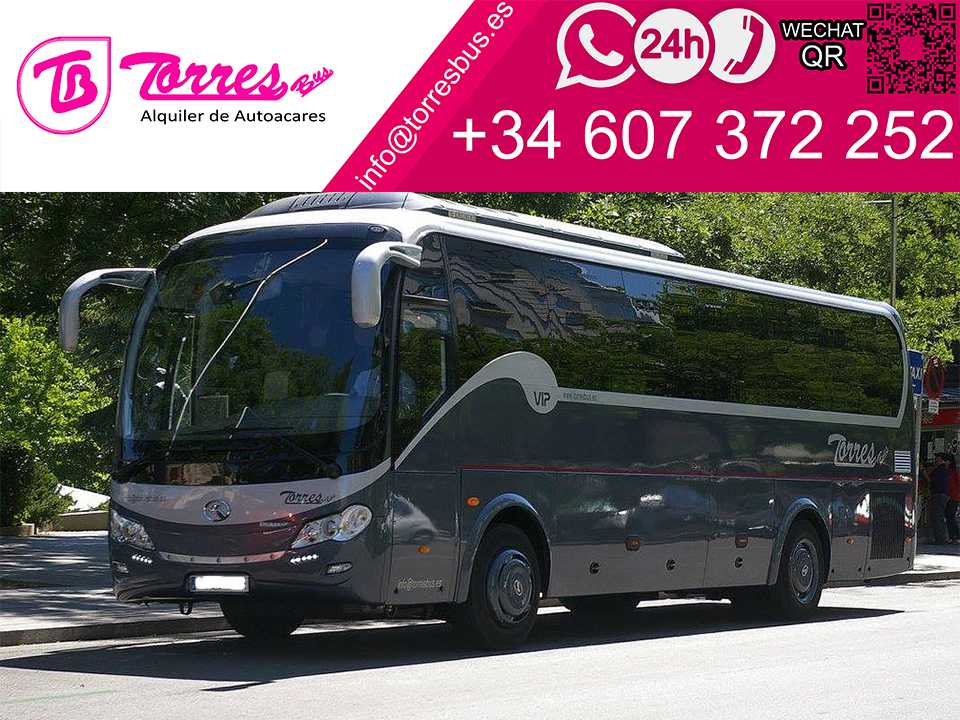microbus rental company madrid