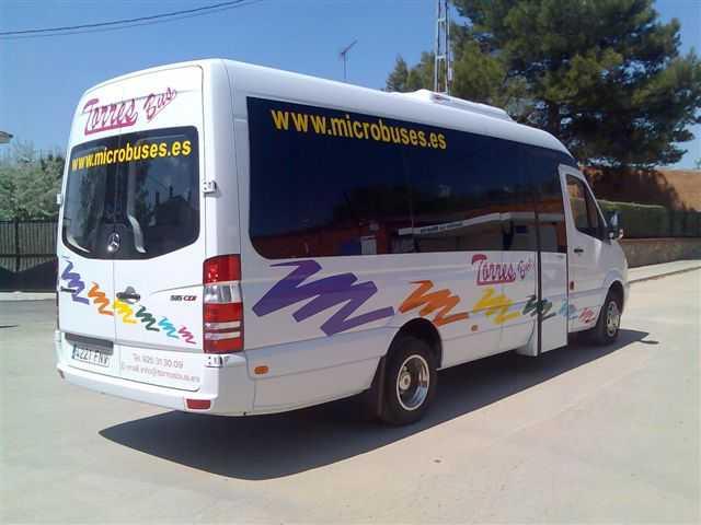 microbus madrid, alquiler microbus en madrid, alquilar microbus madrid
