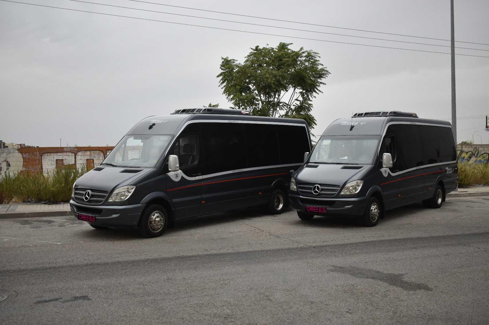 Alquiler de autobuses baratos en Madrid – Empresa Torres Bus