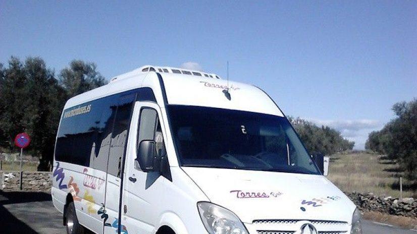 Transport von Miete Busse Madrid