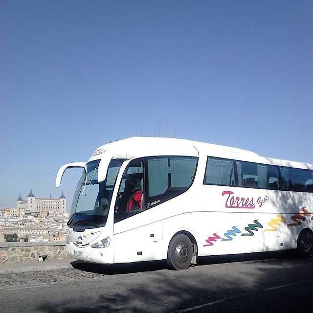 Buses en Alquiler autobus 35 plazas visita Toledo