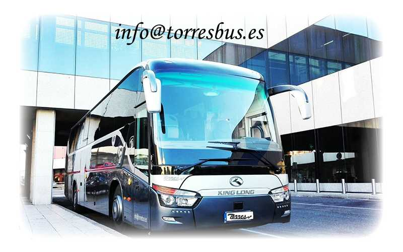 alquiler de autobuses y autocares en madrid