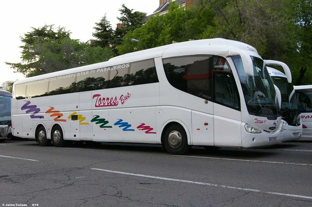 Madrid bus rental