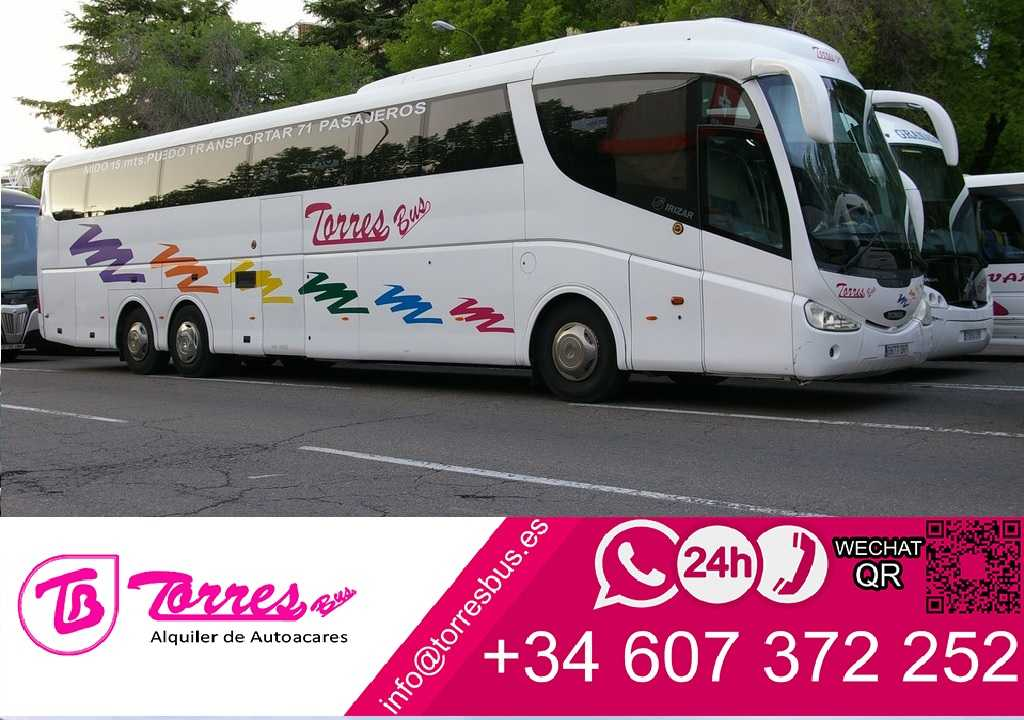 Madrid bus hire | rent buses madrid cheap price