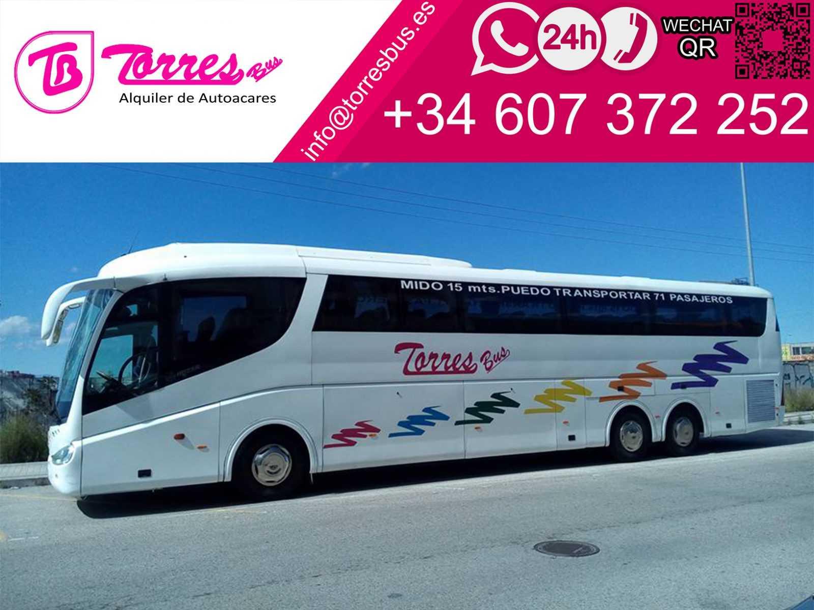 autocar de închiriere autocar 70 plazas madrid