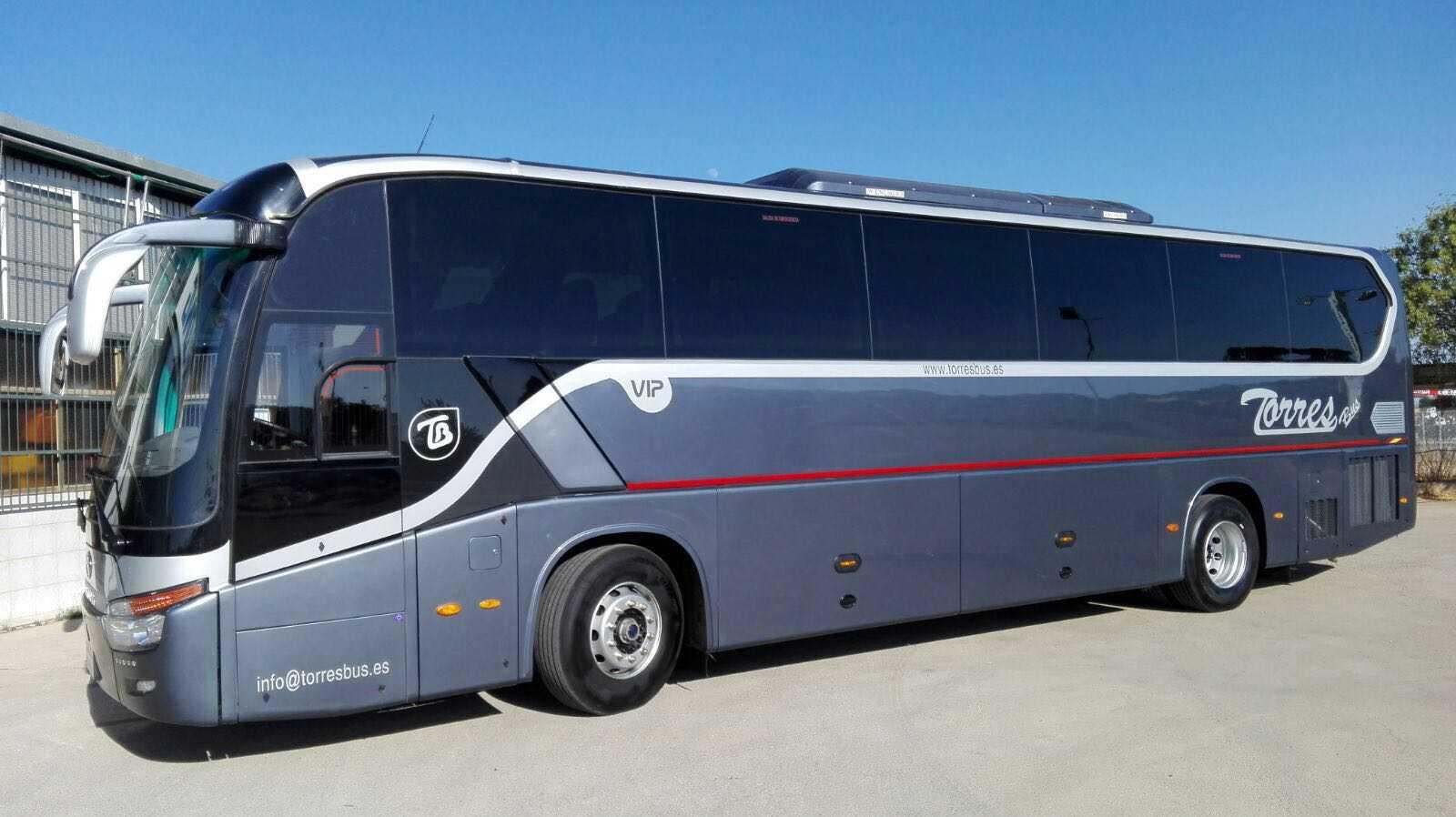alquiler de autobuses vip madrid