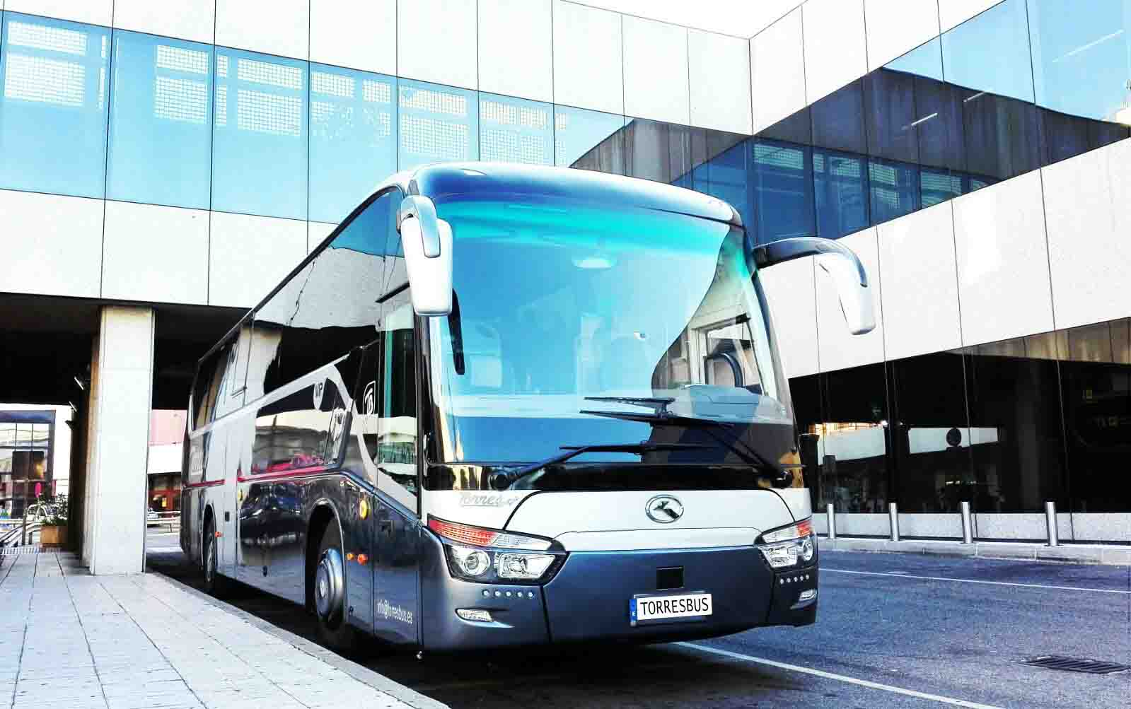 Bus rental in Madrid
