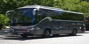 rental of minibus 35 seats VIP in Madrid for bachelor party