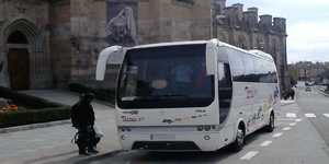 minibus with driver in madrid 35 seats