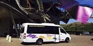alquiler minibus microbus 16 plazas madrid comunidad fiesta