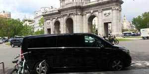 VIP 7 Pax minivan dengan pemandu
