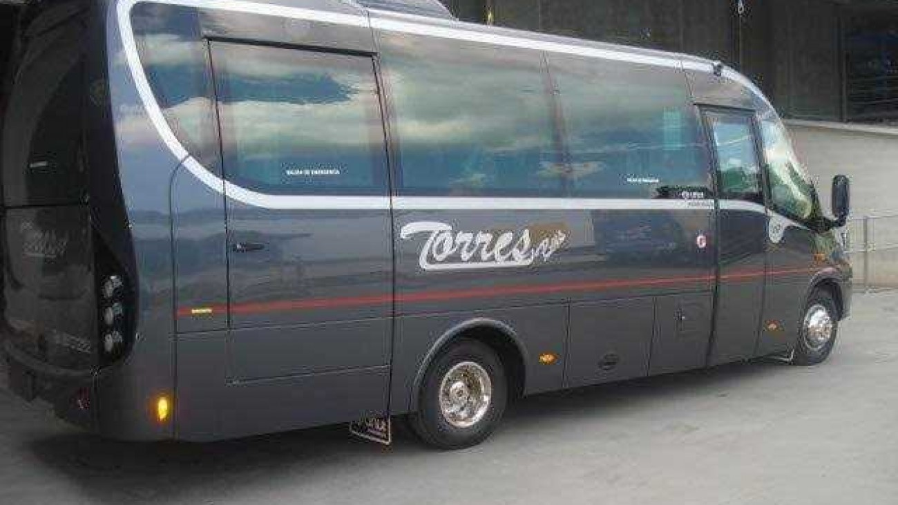 12 minibuses - 16 - 24 and 30 Plazas