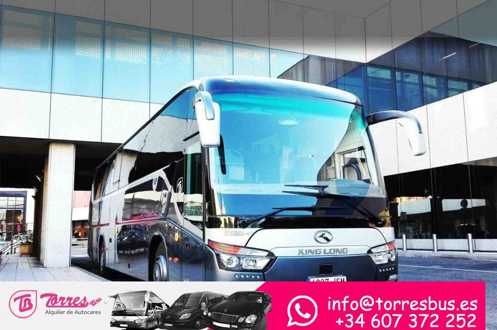 Busse mieten in Madrid Unternehmen