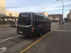 Luxus Kleinbusvermietung Madrid Mercedes
