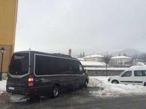 Microbus Madrid Executive-Arbeit Reise
