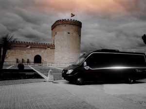 Luxuskleinbus in Madrid vip