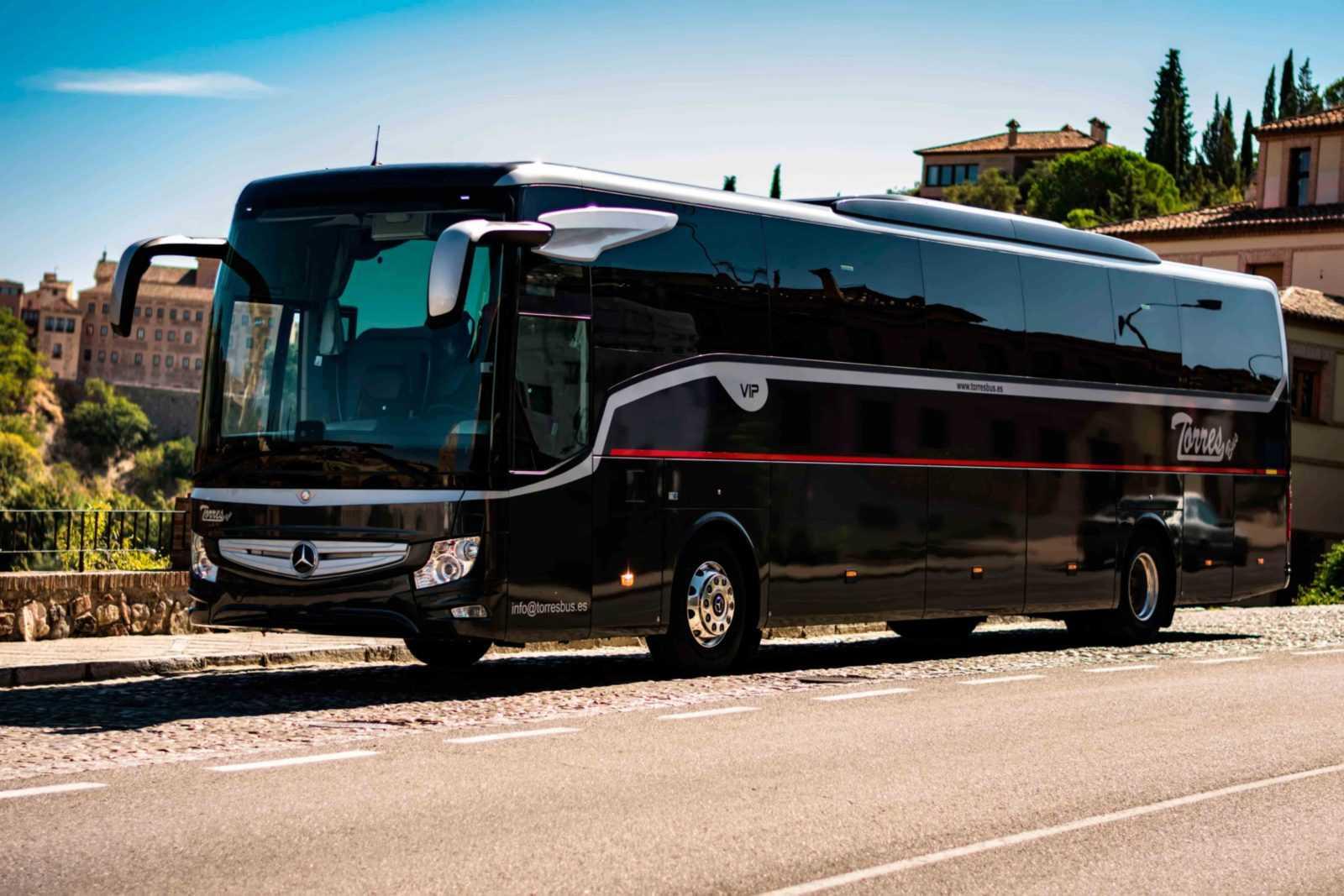 Alquiler de autobuses, autocares, microbuses y minibuses en Madrid