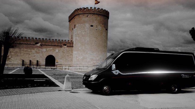 mini autobuses de alquiler para bodas en madrid
