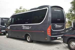 rental of minibuses in madrid embassies transport of passengers airport of madrid barajas