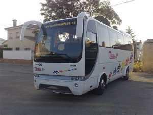Xarabankijiet u minibuses Madrid