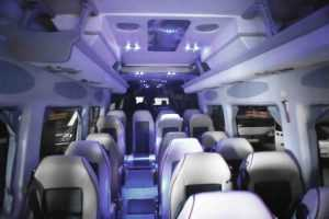 interior mercedes sprinter lujo