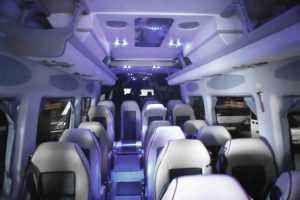 Interior Mercedes Sprinter Luxus