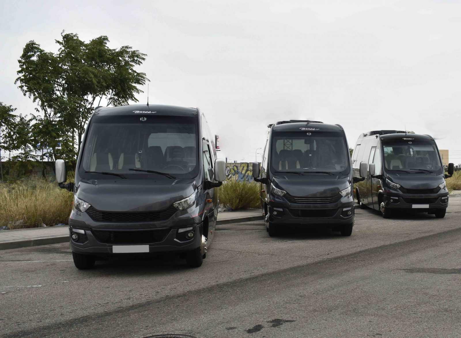 Precios de alquiler de microbuses