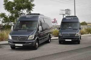 마드리드 서비스 알라 카르테의 미니 버스 렌탈 럭셔리 렌탈