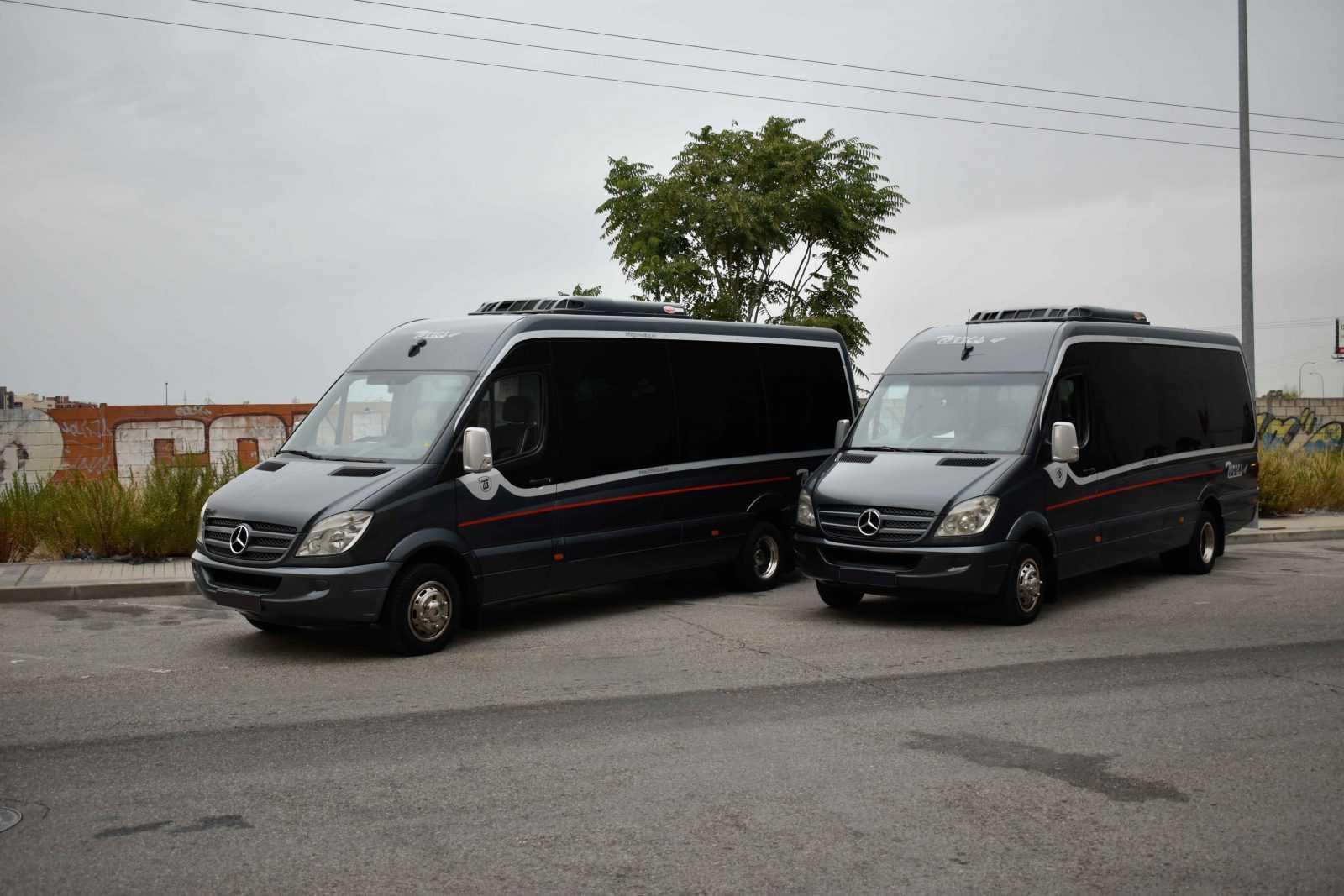 Туристический автобус Мадрид Испания | Туристические автобусы Torresbus | Аренда микроавтобусов