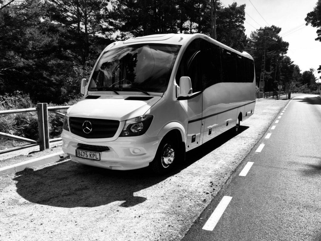 Location de sièges Mercedes Sprinter 31 en minibus