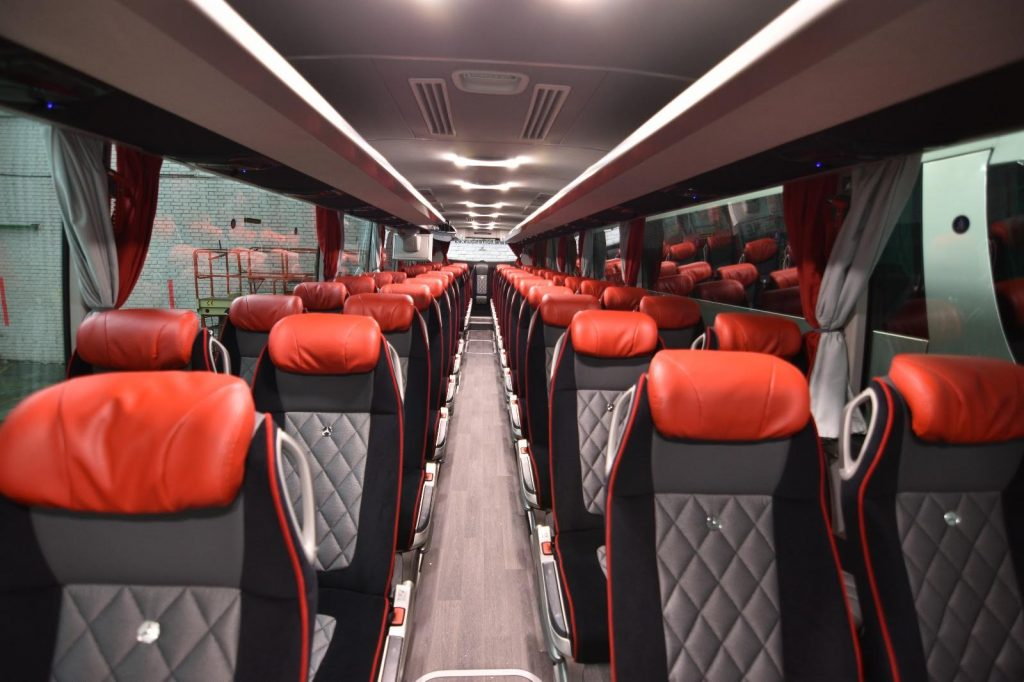 rental buses for weddings