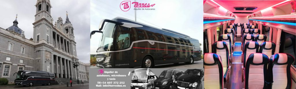 Coach hire in Madrid - airport transfer Madrid