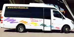 microbus 16 plazas en madrid alquilar