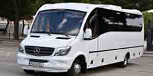 Minibus 30 seats to rent for wedding in madrid mercedes