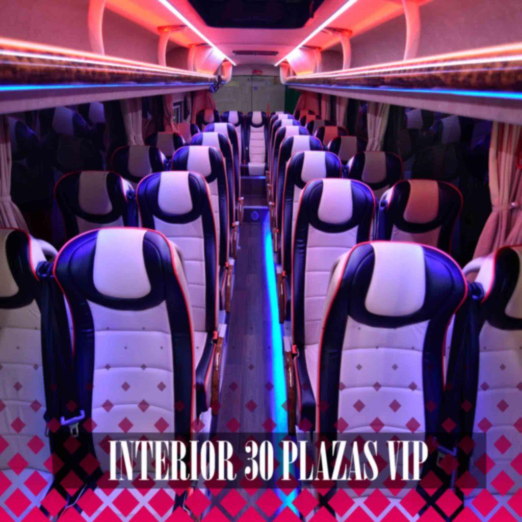 minibus iveco dyparro 30 plazas alquiler en madrid interior