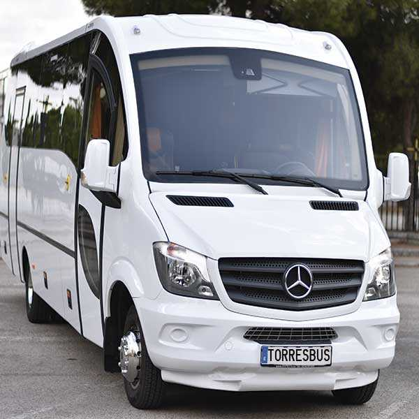 Location de minibus 30 places exécutives - Voyage, mariages, excursions