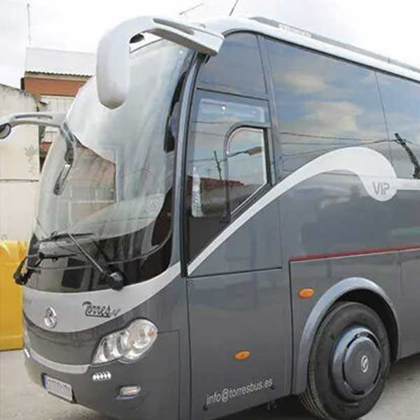 coach 35 seats and 39 seats in Madrid