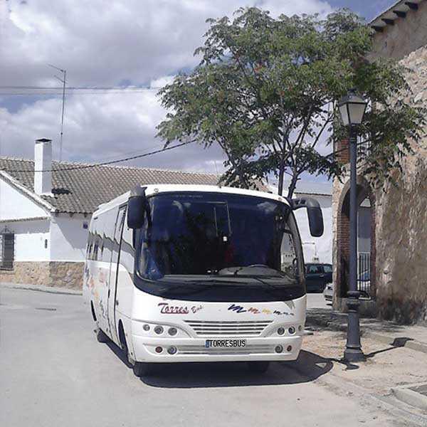 Noleggio minibus da 25 posti con autista madridista