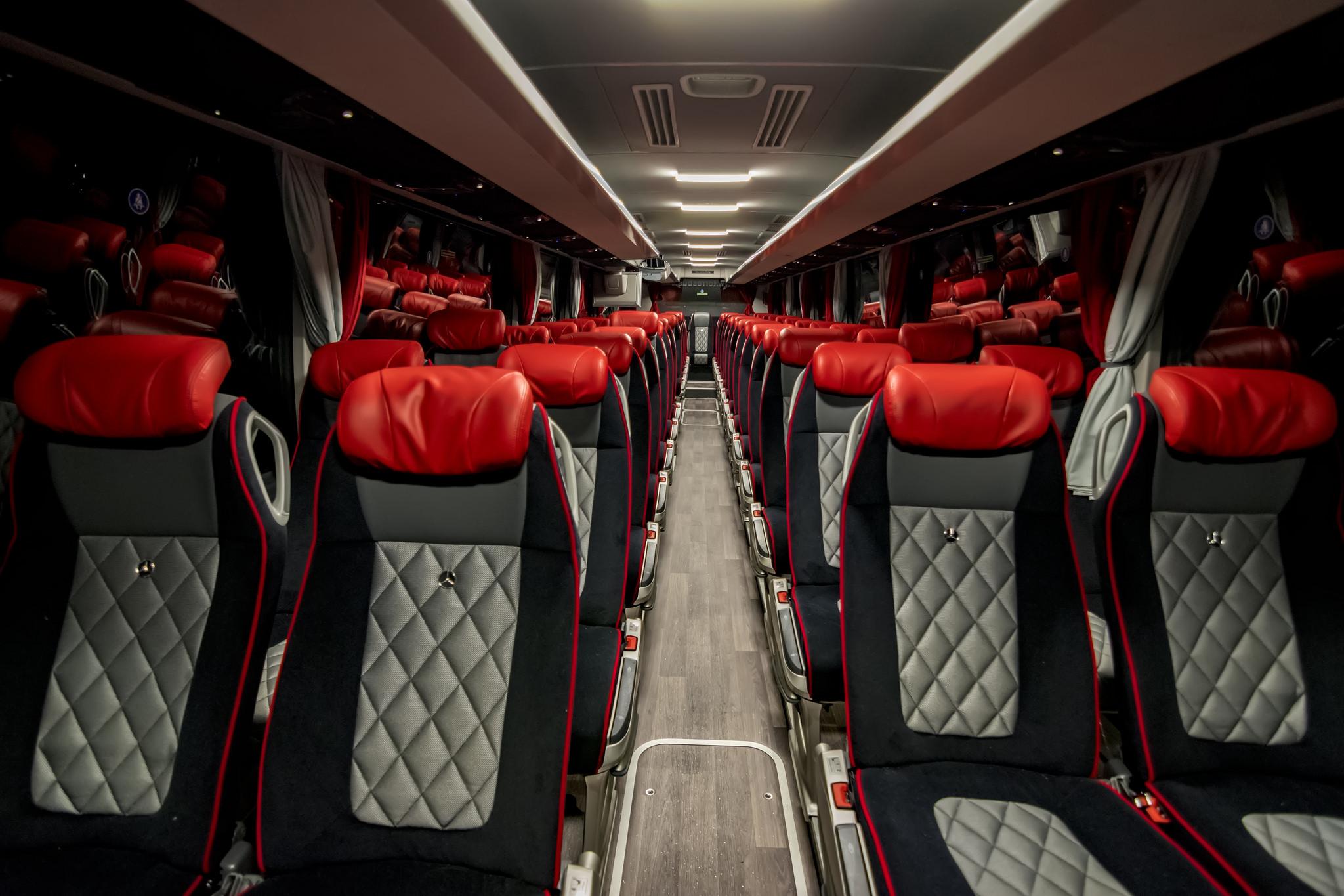 cómo elegir el mejor asiento de autobús